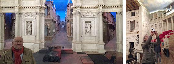 Interiörer från Teatro Olimpico